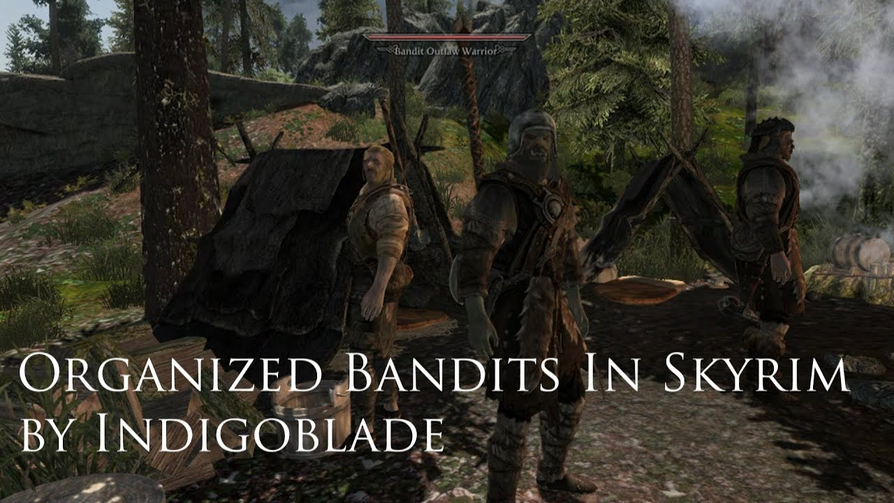 Another Skyrim Mod Review - Organized Bandits in Skyrim (OBIS) by  Indigoblade