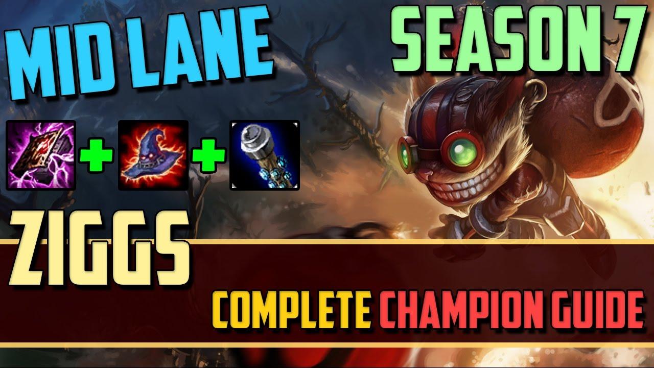 Ziggs: The Bomberman - League of Legends Champion Guide [SEASON 7]