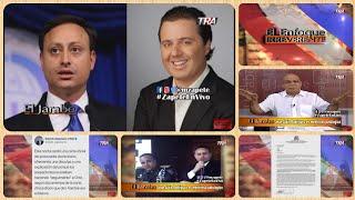 Jean Alain Rodríguez es mentiroso patológico - Periodista CNN pregunta   El Jarabe Seg-2 20/06/19