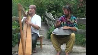 Alizbar & Amin / Кельтская арфа и Ханг/ Hang drum  with celtic  harp