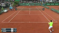 Tennis  ATP Challenger Tour Albot R  vs Kamke T  2   0 Highlights Furth   Germany 04 06 2016