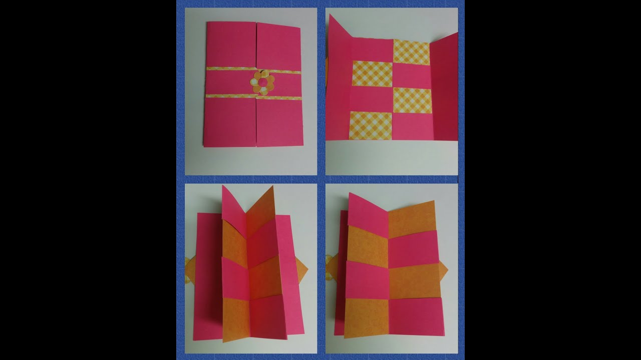 Art Craft How To Make Secret Door Greeting Card Magic Teachers Day Mothers Ca