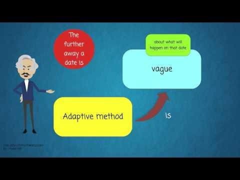 Agile Software Development - Part 8 -  Adaptive vs predictive