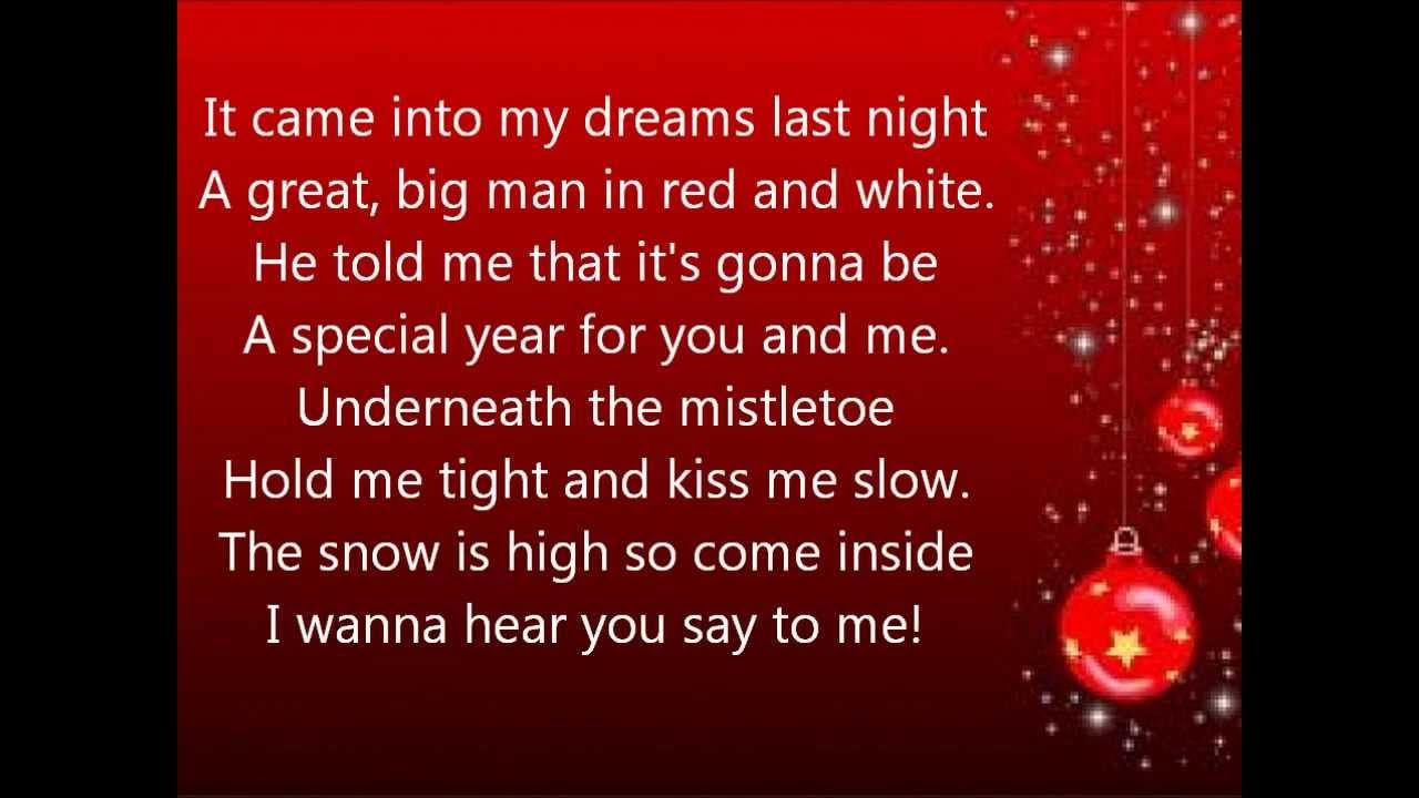 glee extraordinary merry christmas lyrics - Merry Merry Merry Christmas Lyrics
