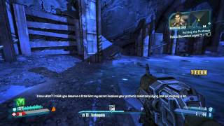 """""""Hunting the Firehawk"""" mission with Japanese voices [Mechromancer - Borderlands 2]"""