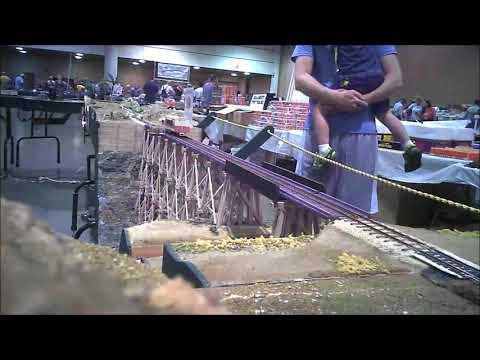 First Coast Model Railroad Society - MiniCam at Jax Train Show 2018