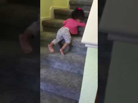 Crawling down the Stair