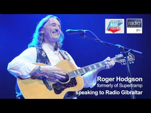 Roger Hodgson speaks to Radio Gibraltar ahead of performing on the Rock