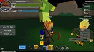 Dragon Ball Roleplay on Roblox