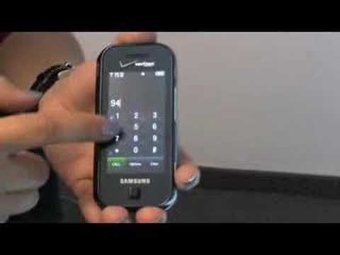 Samsung Glyde (Verizon) First Look