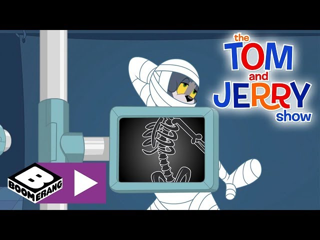 Tom & Jerry | The Heart Of Gold Criminal In The Animal Hospital | Boomerang UK