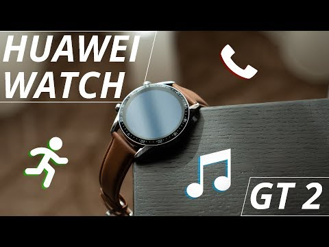 Huawei Watch GT 2 has 2 week battery life and speakers?