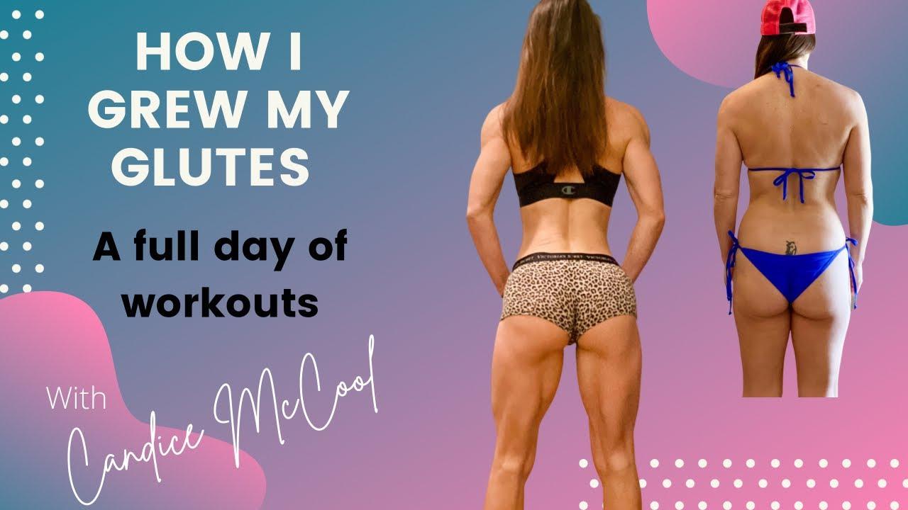 How I grew my glutes- NPC Bikini Prep