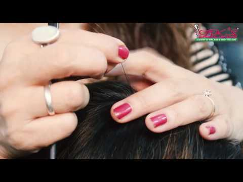 Hair Tinsel Tutorial || Step By Step || Dks Academy Health and Beauty thumbnail