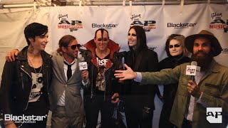 APMAs Blackstar Artist Lounge: Motionless In White