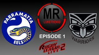 Rugby League Live 2 | Warriors Career Mode Show | Round 1 (LIVE COMM)