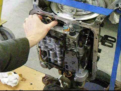 Chevy Automatic Transmission Oil Pump Removal  4L60E