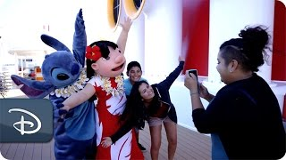 The Valenzuela Family Aboard Disney Cruise Line