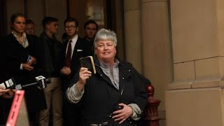 'Hallelujah!': Tense scenes and high drama outside Pell hearing