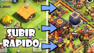 Clash of Clans: COMO SUBIR DE NIVEL RAPIDO! Trucos y consejos de Clash of Clans en español