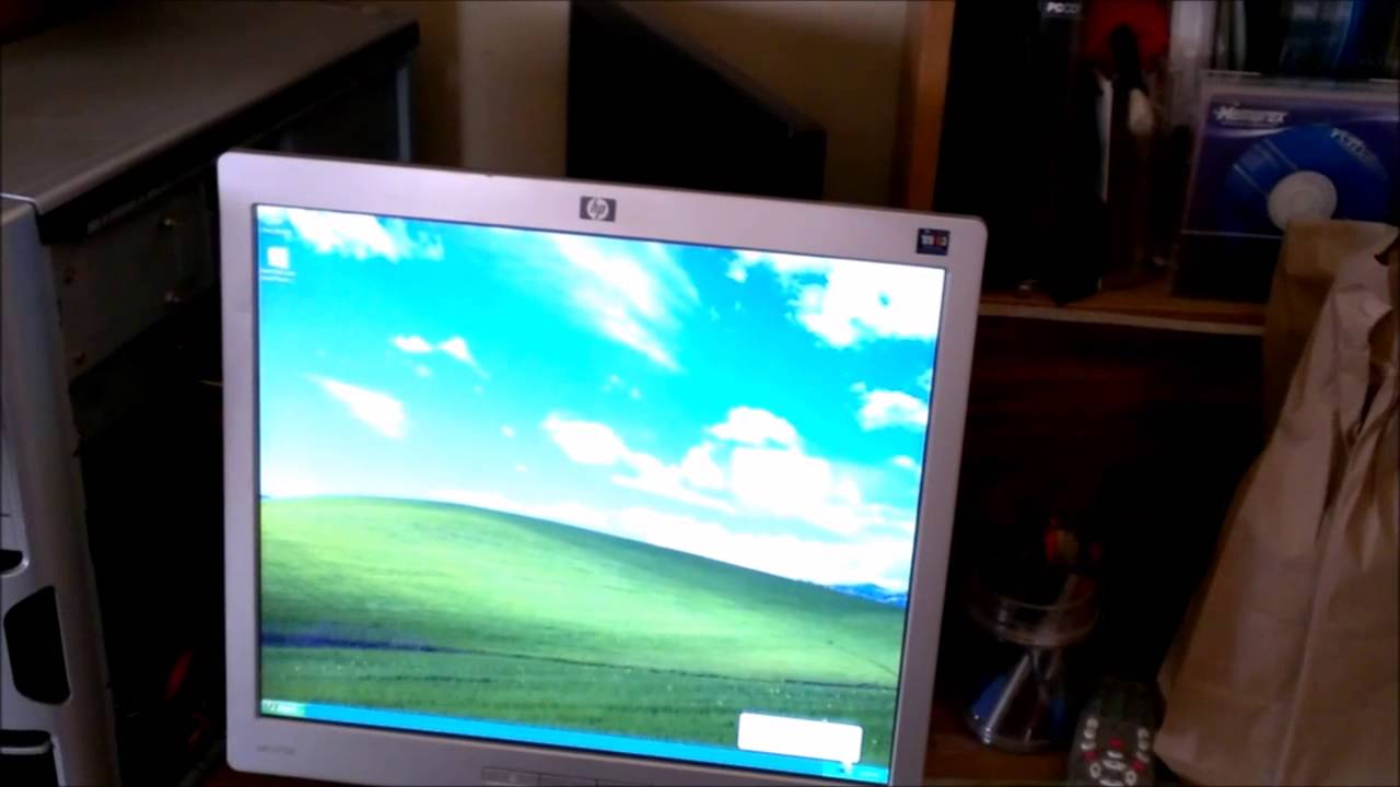 Hp Monitor Repair Flickering Video On And Off No Video Lcd Youtube
