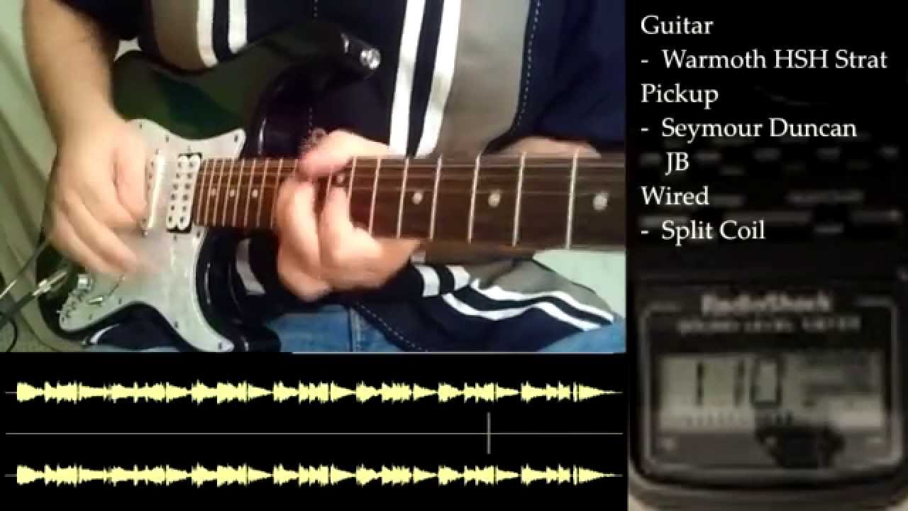 Volume Drop With Coil Splitting Full Video Youtube Humbuckers 3way Toggle Switch 2 Volumes 1 Tone Tap Series