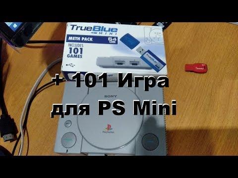 101 игра для PS MINI Флешка True Blue (ТруБлу) с Али Экспресс
