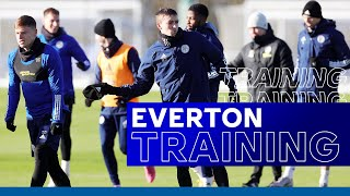 Preparations Continue At Snowy LCFC Training Ground | Everton vs. Leicester City | 202/21