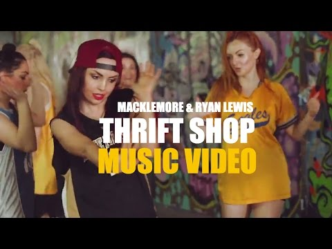 THRIFT SHOP - Macklemore & Ryan Lewis Dance MUSIC VIDEO | Brendon Hansford Choreography