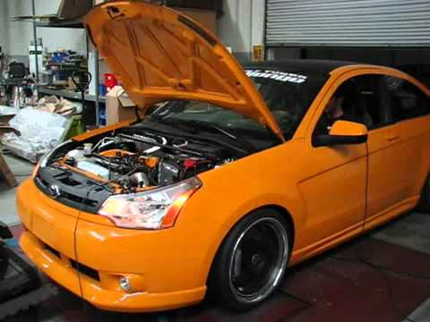 FSWERKS Turbo 2008 Ford Focus on the dyno