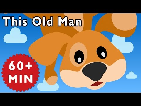 This Old Man and More | Nursery Rhymes from Mother Goose Club!