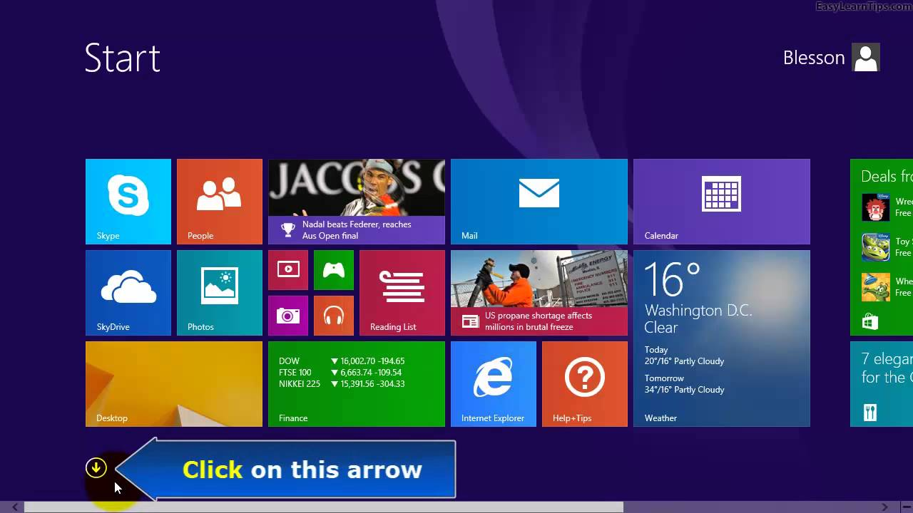 Windows 8 1 - Two ways to open Windows Fax and Scan