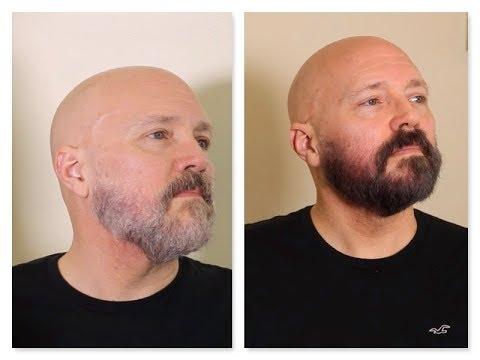 Pinte Mi Barba Con Producto Natural Anti Alergico Hypoallergenic Beard Dye