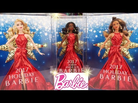 Holiday Barbie 2017 My Thoughts on this Years Doll by Mattel