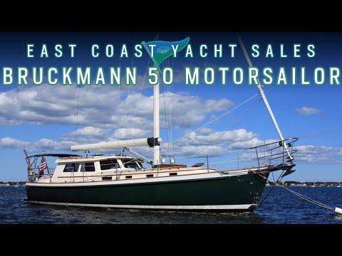 2001 Bruckmann 50 Motor Sailor For Sale