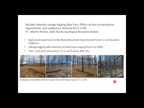 Hot Off the Press: The latest research from the Joint Fire Science Program
