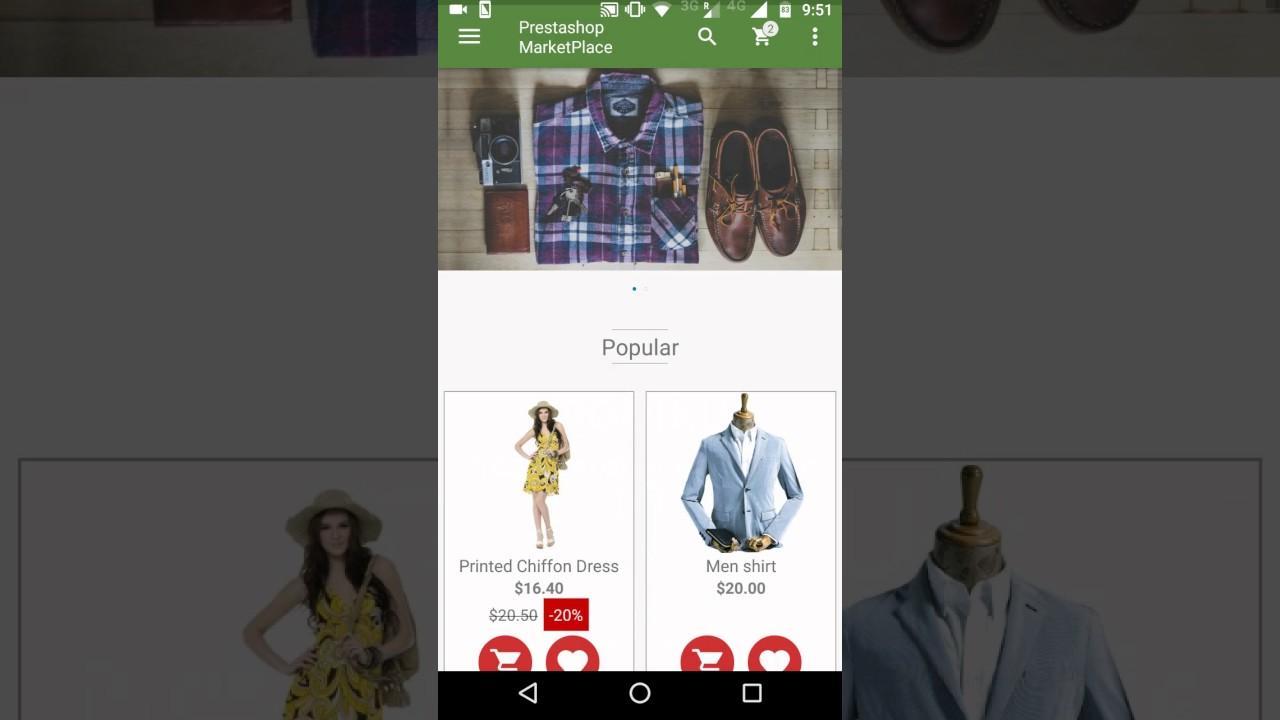 PrestaShop Marketplace Mobikul Mobile App Builder (Android)