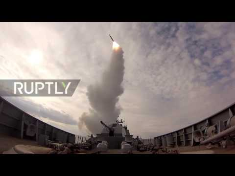 Russia: Baltic Fleet perform missile launch drills to develop air defence system