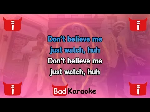 Bad Karaoke - Mark Ronson Feat. Bruno Mars - Uptown Funk