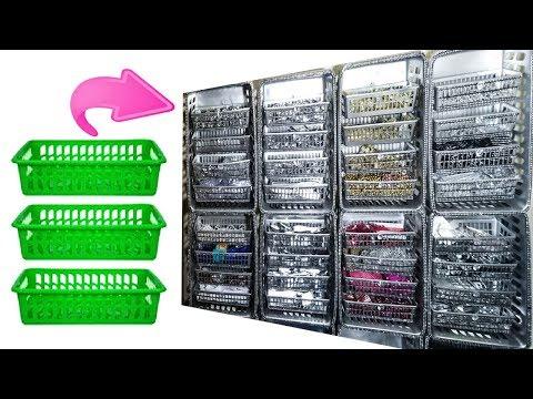 Diy Organization idea for your room dollar tree storage