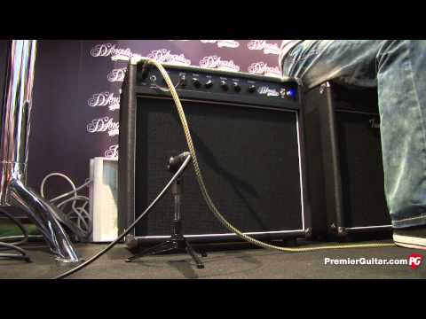 Musikmesse '13 - D'Angelico Amp Demo