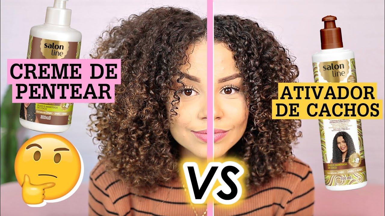 QUAL A DIFERENÇA: ATIVADOR DE CACHOS x CREME DE PENTEAR? | por Ana Lídia Lopes