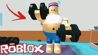 SPOR SALONUNDAN KA'I' - Roblox Türkée -Roblox Adventure - Escape The Gym Obby