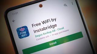 Free WiFi Passwords & Hotspots by Instabridge - Get free WiFi - WiFi Apps Review