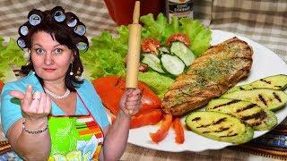 Куриное филе с овощами. Правильный легкий ужин | Тёщины Рецепты 🎬