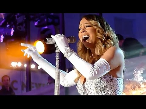 Mariah Carey - Unpublished Vocal In Rockefeller Center (Joy To The World)