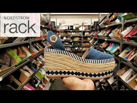 Nordstrom Rack SHOP WITH ME SHOES WEDGES TORY BURCH SNEAKERS PUMA WALK THROUGH JUNE 2018