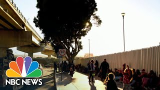 U.S. Considering Army Base To House Migrant Children | NBC Nightly News