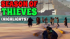 Season Of Thieves | *Server Event Highlights* - (ft Freyline, Sea Of Champions, CosmicKermit)