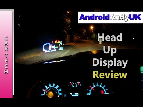 Car Head Up Display (HUD) Review